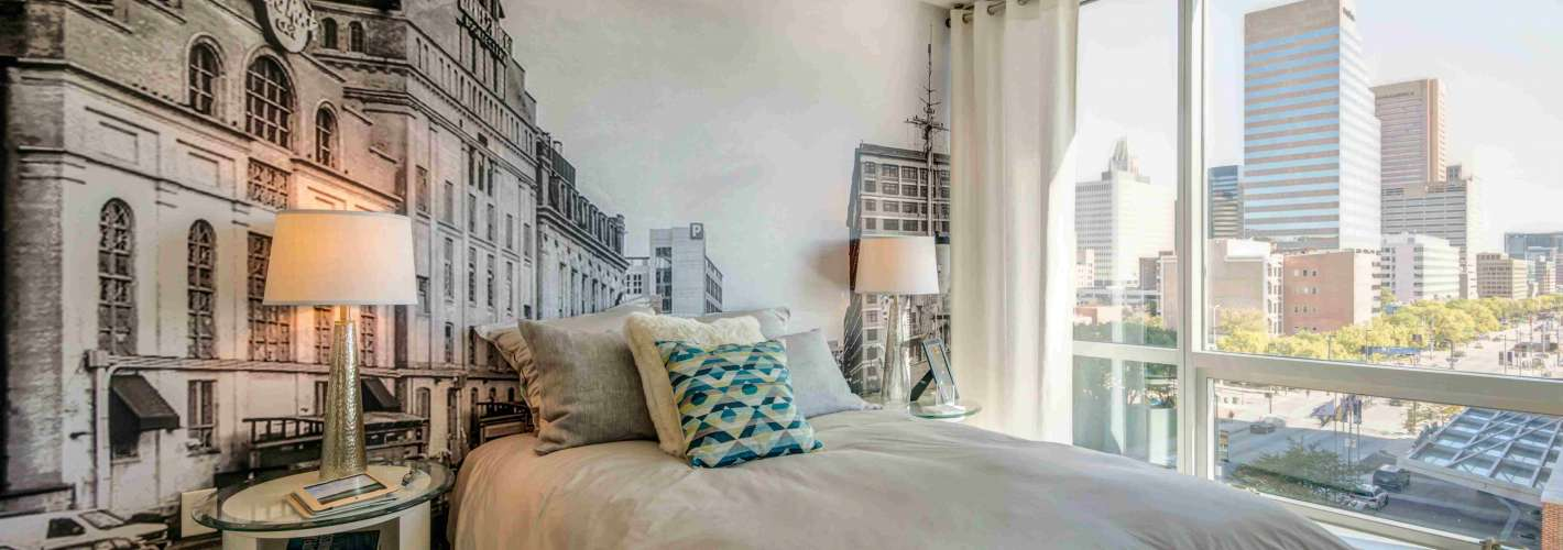 The Zenith : Master bedroom with a view