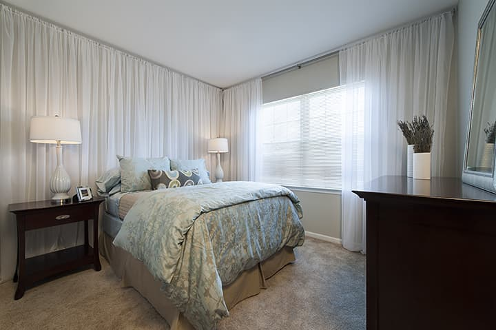 Washington Crossing : Model Bedroom
