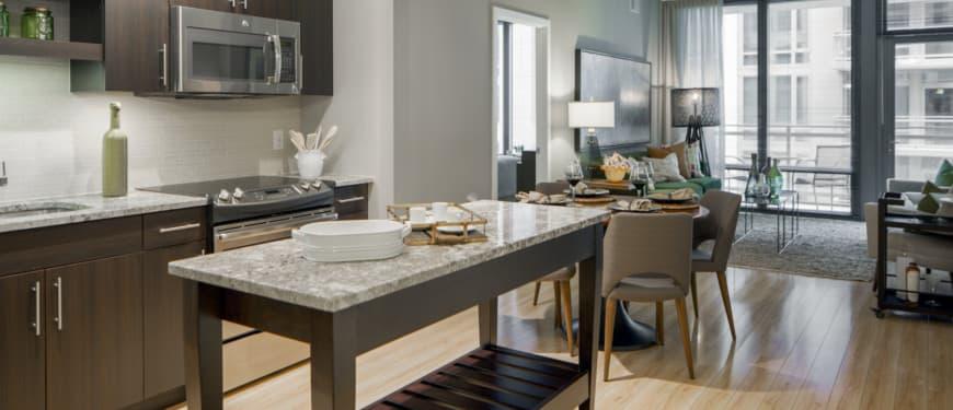 Flats 8300 : Bianco Antico granite countertops by Countertopia®