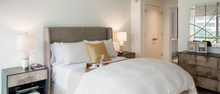 The Hepburn : Floor to ceiling windows in every bedroom allow you to wake up and fall asleep to stunning views of DC.