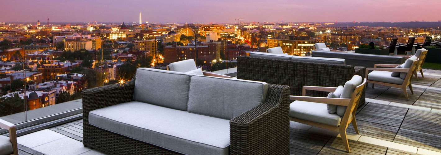 The Hepburn : Complete your day's serenity with our stunning, rooftop views of the city and beyond.