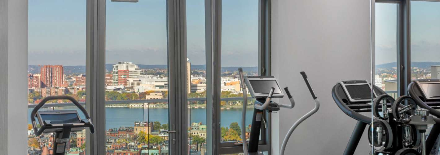 30 Dalton : Gym view