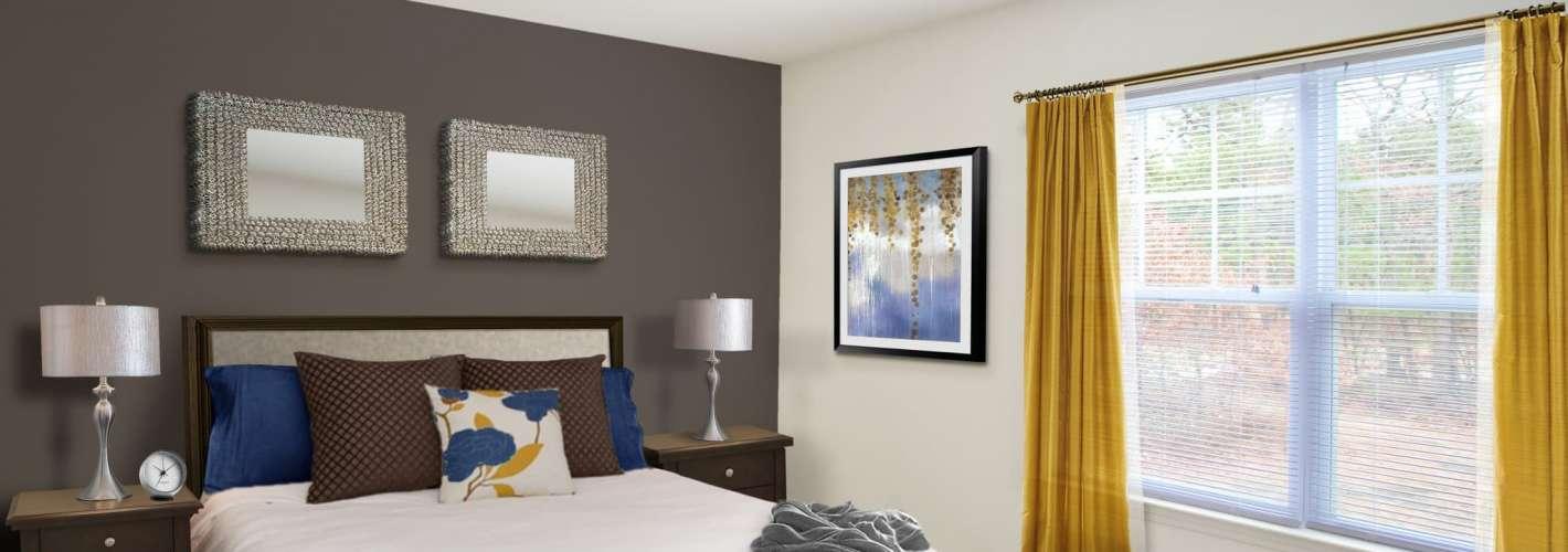 The Point at Pine Ridge : The Point at Pine Ridge Model Bedroom