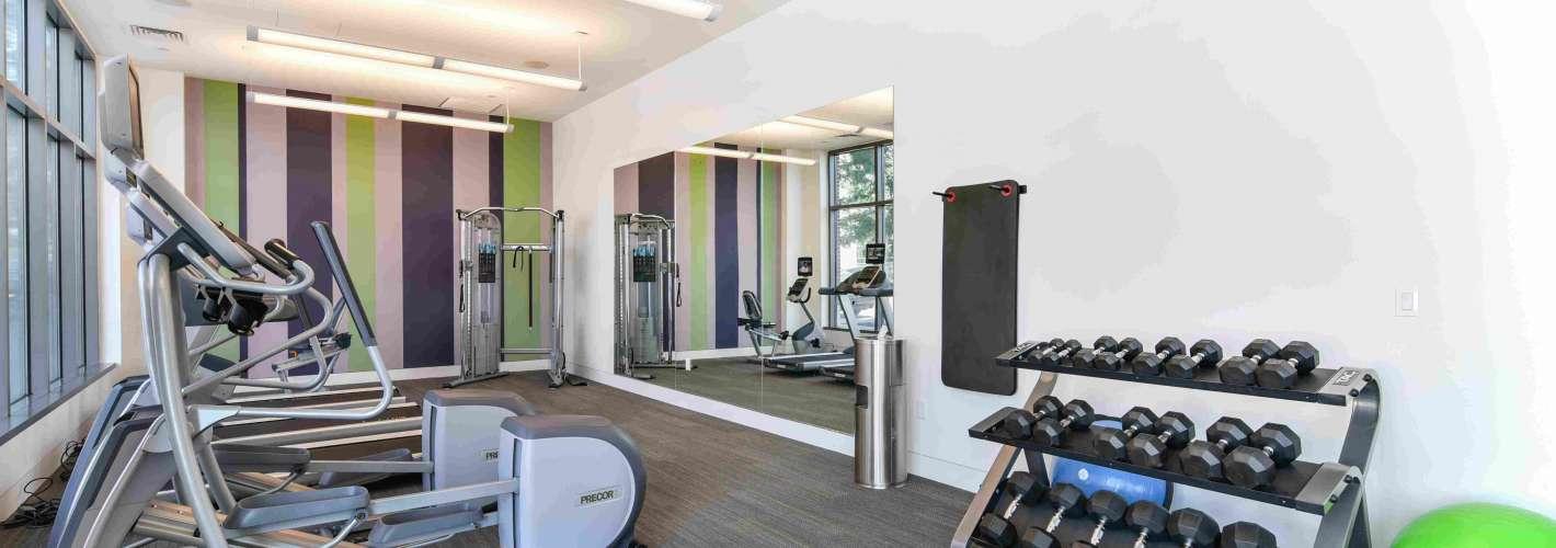 Flats on D : Fitness Center