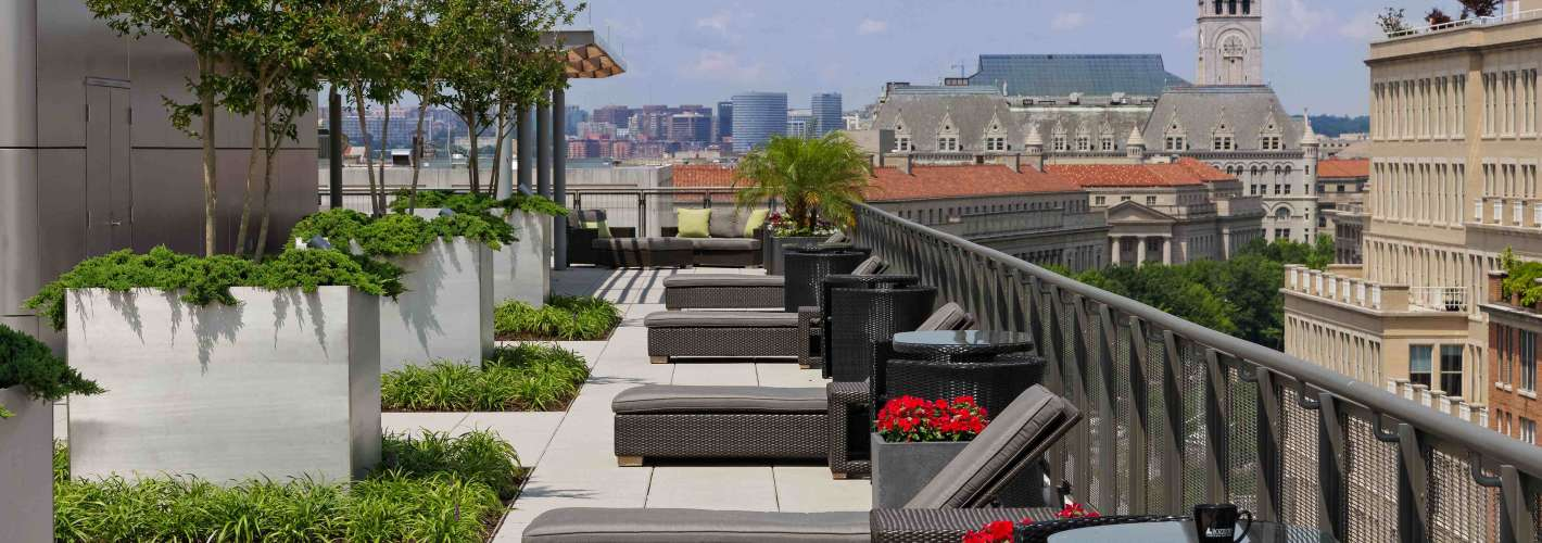 Newseum Residences : Rooftop 3