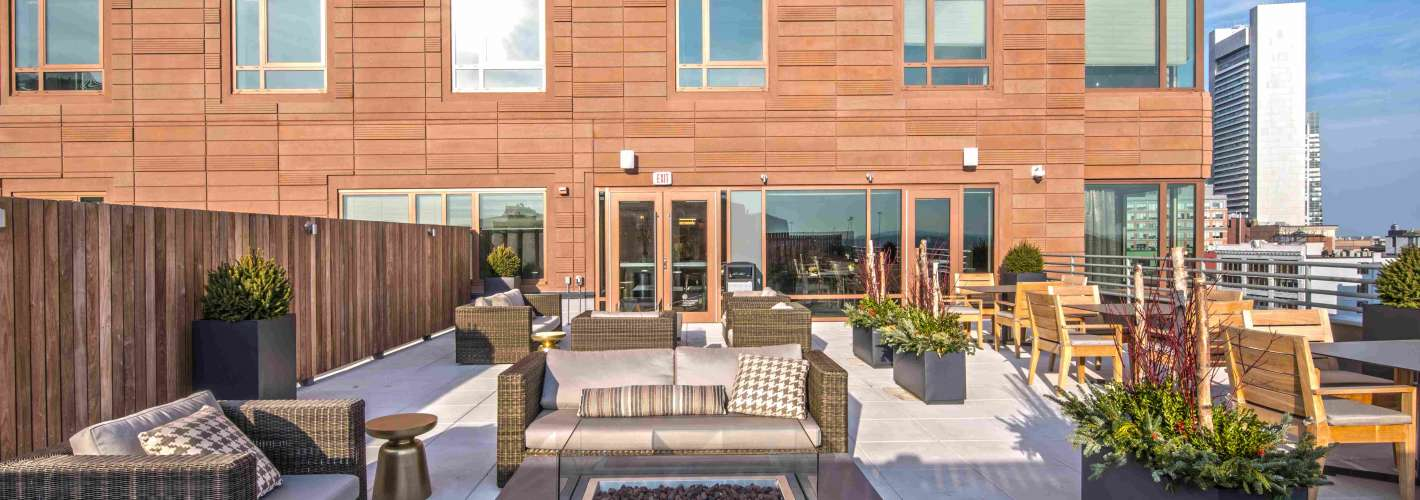 One Greenway : Roof Deck