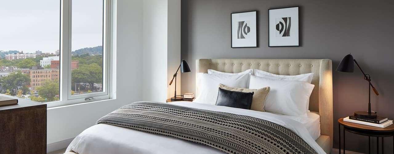 The Harlo : Model Bedroom