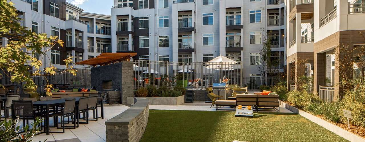 Aperture : Aperture Courtyard