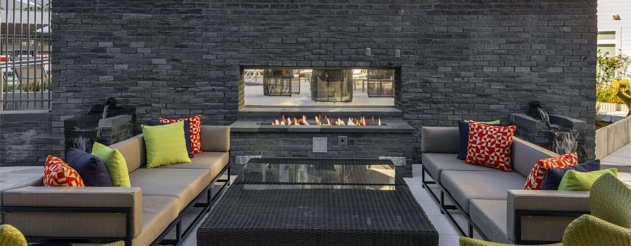 Aperture : Aperture Fireplace & Seating Area
