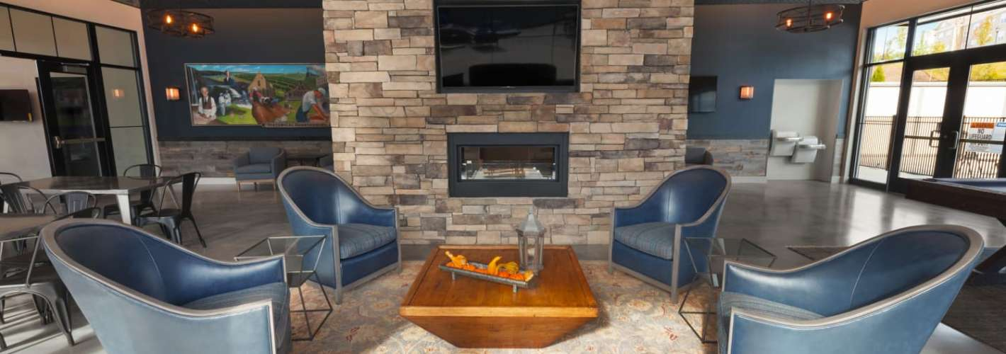 The Tannery : Fireplace