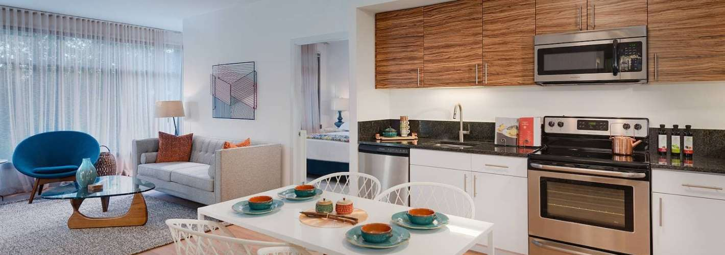 The Modern at Art Place : Open-concept kitchens and living rooms