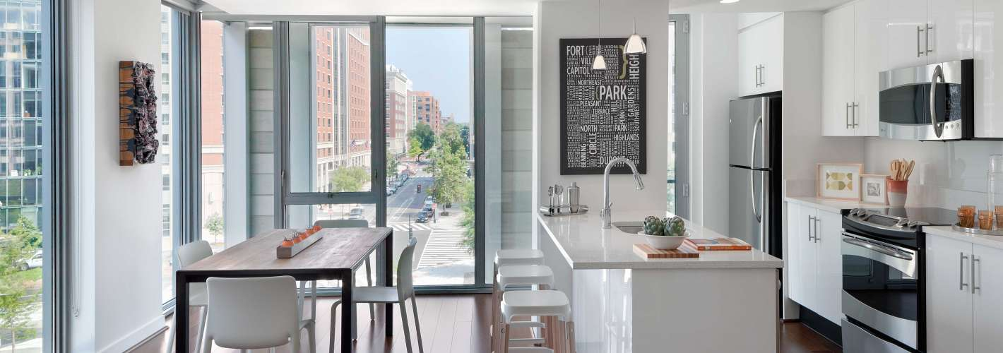 The Apartments at CityCenter : Kitchen