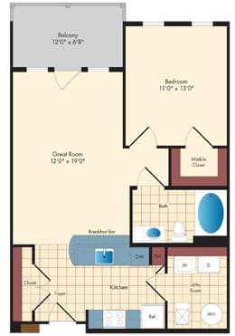 View Enclave At Emerson Apartment Floor Plans Studios 1 2 3 Bedrooms Bozzuto