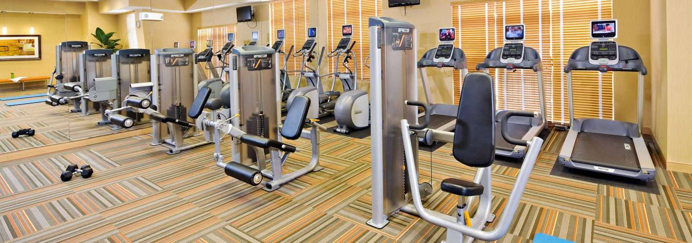 Rhode Island Row : Fitness Center