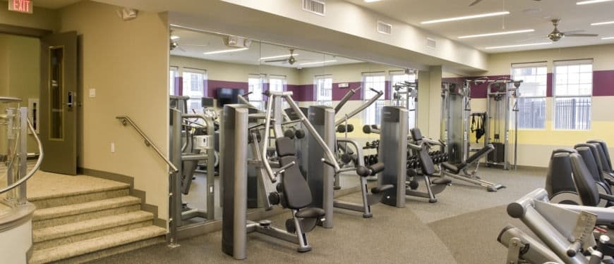 West 130 Apartments : Gym