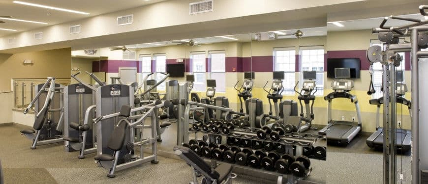 West 130 Apartments : Gym view