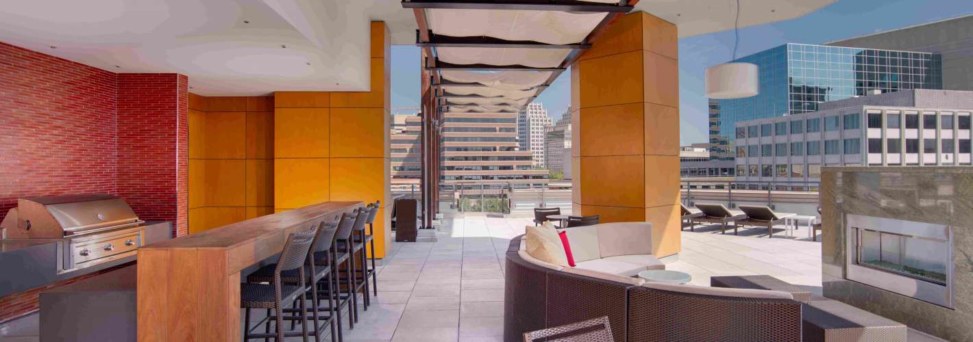 Flats at Bethesda Avenue : Rooftop4