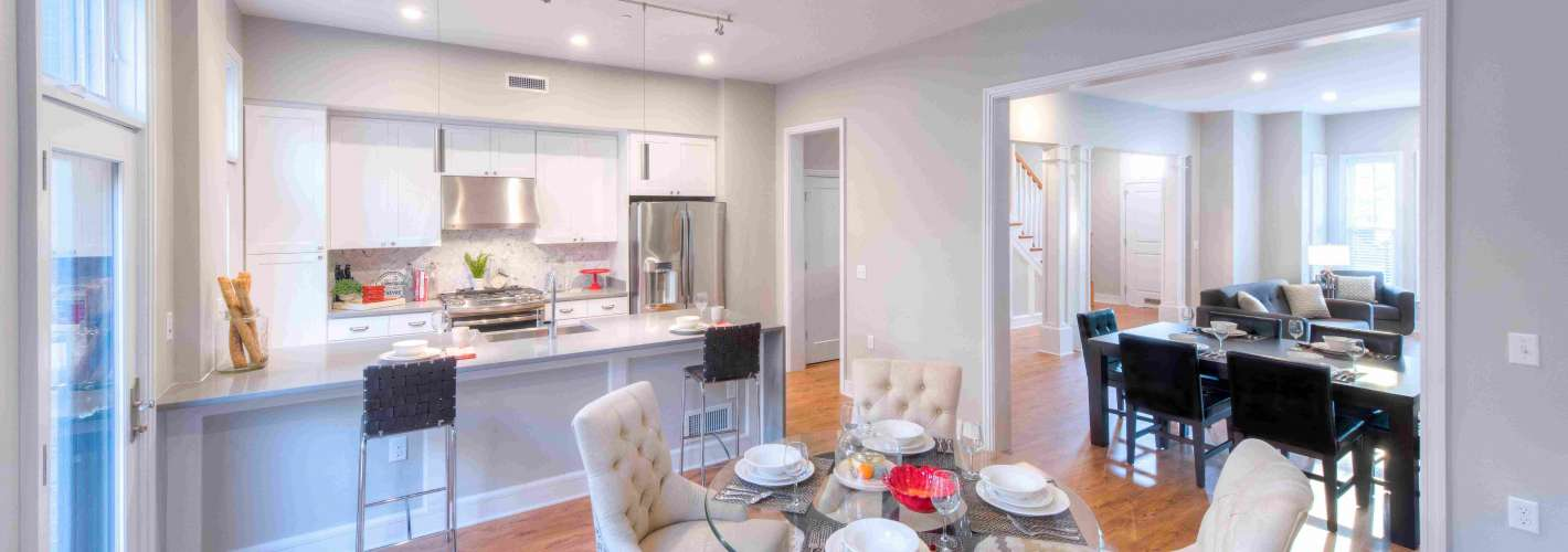 Cathedral Commons : KitchenTownhome