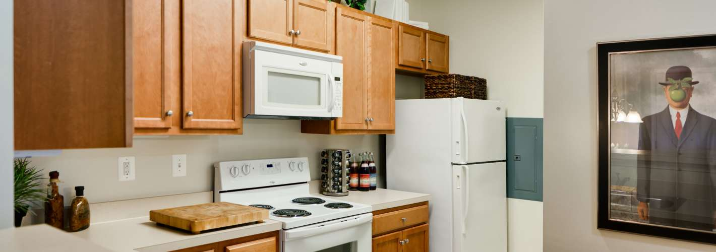 Chesapeake Ridge : Your designer kitchen has every appliance you need.