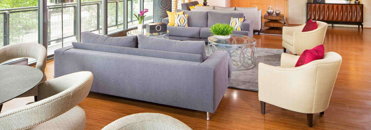 Newseum Residences : Lounge 1