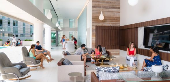 Featured amenity at The Apartments at CityCenter