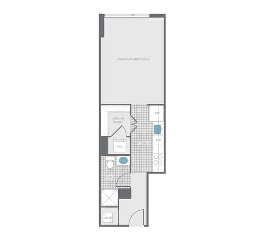 View Newseum Residences Apartment Floor Plans Studios 1