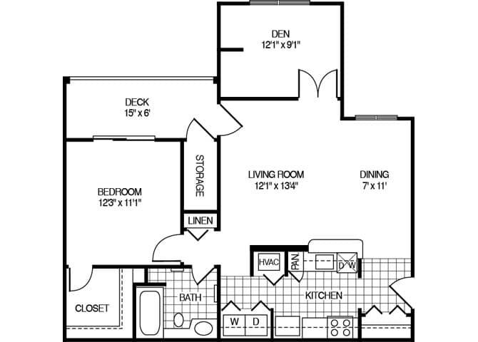 Hunters Glen – Marlborough House Floor Plan