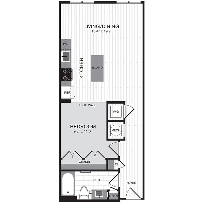 View The Parker Apartment Floor Plans - Studios, 1, 2, 3+ ...