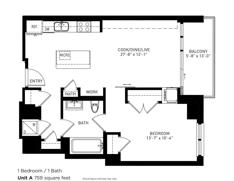 View Roosevelt Collection Lofts Apartment Floor Plans ...