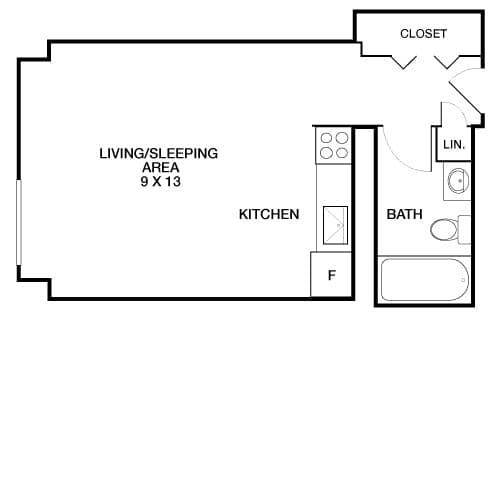 View Riverside Apartment Floor Plans Studios 1 2 3 Bedrooms Bozzuto