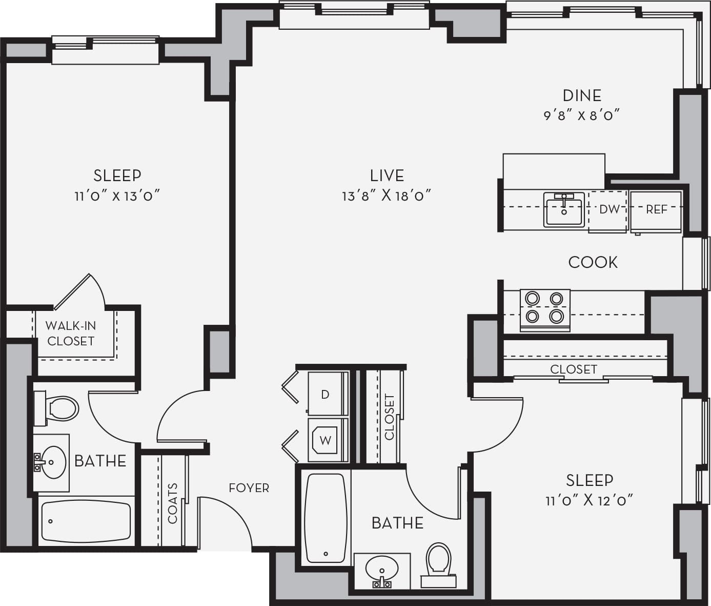 La Rochelle Apartments: La Rochelle, New Rochelle, NY Apartment For Rent