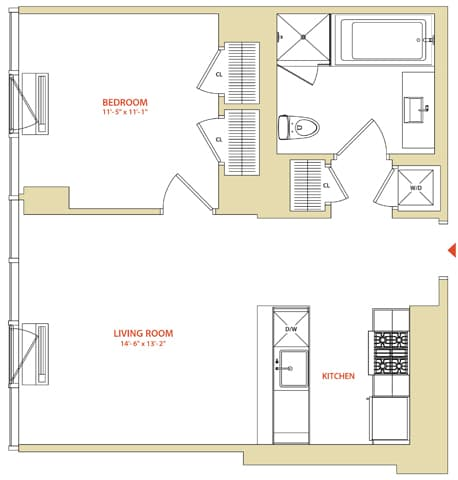 View Instrata at Mercedes House Apartment Floor Plans ...