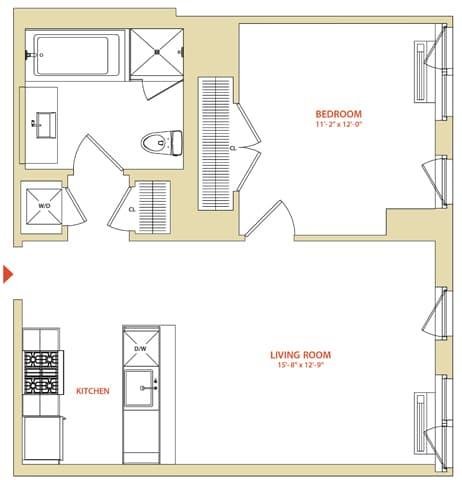 Instrata at Mercedes House – Mercedes House Floor Plans