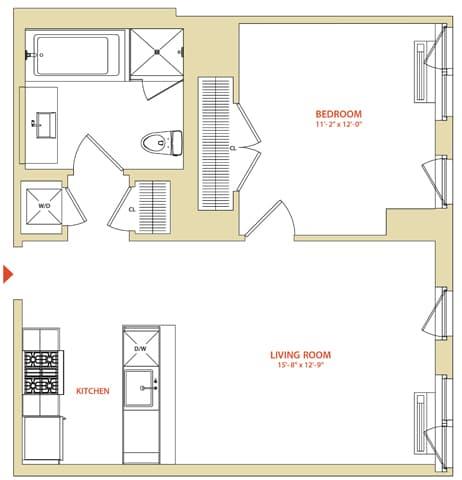 View Instrata At Mercedes House Apartment Floor Plans Studios 1