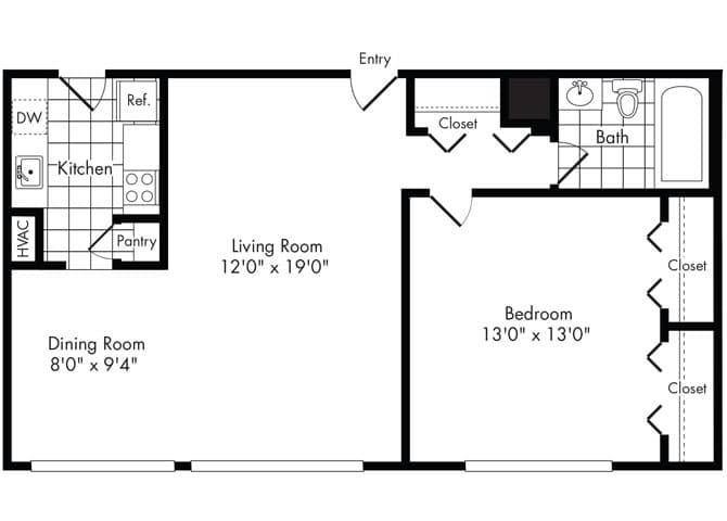 Arlington Apartments for Rent Park Adams