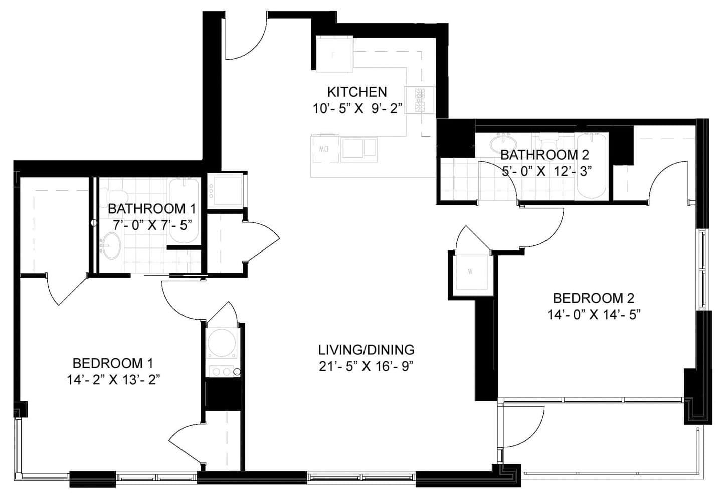 View Lakehouse Apartment Floor Plans Studios 1 2 3 Bedrooms Bozzuto