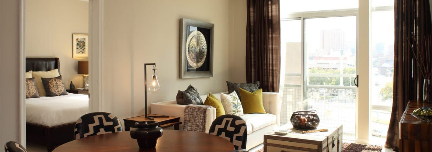 The Fitzgerald at UB Midtown : Living Room