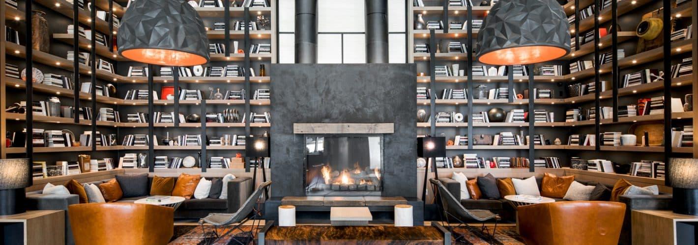 Anthem House : Fireplace