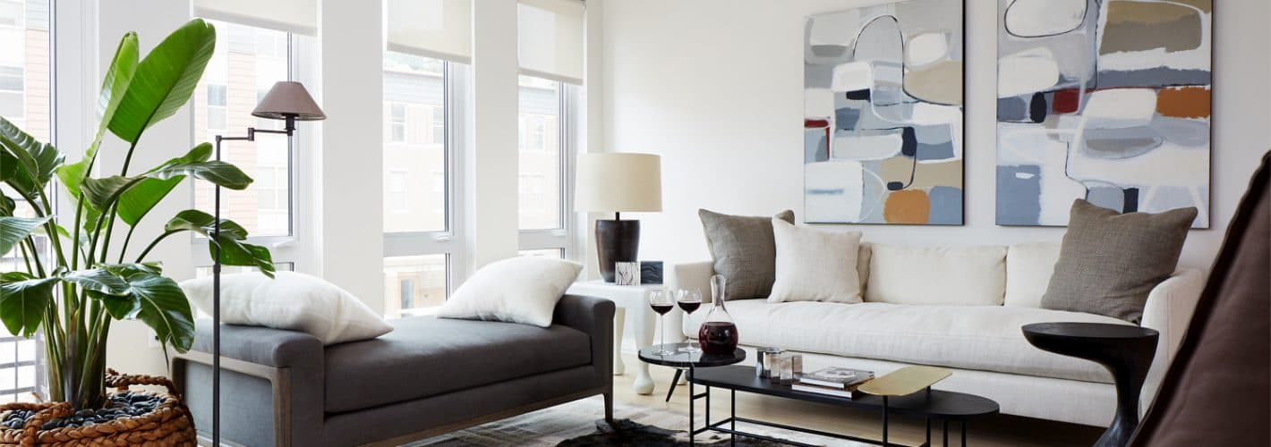 The Residences at Eastern Market : Warm inviting spaces, perfect for entertaining.