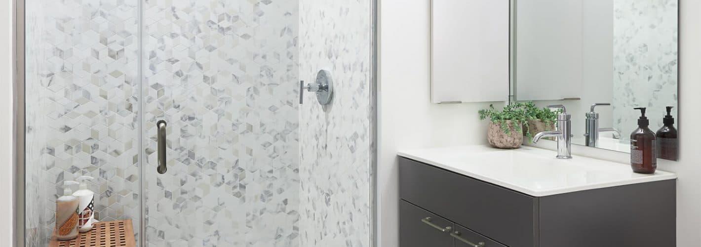 The Harlo : Model Bathroom