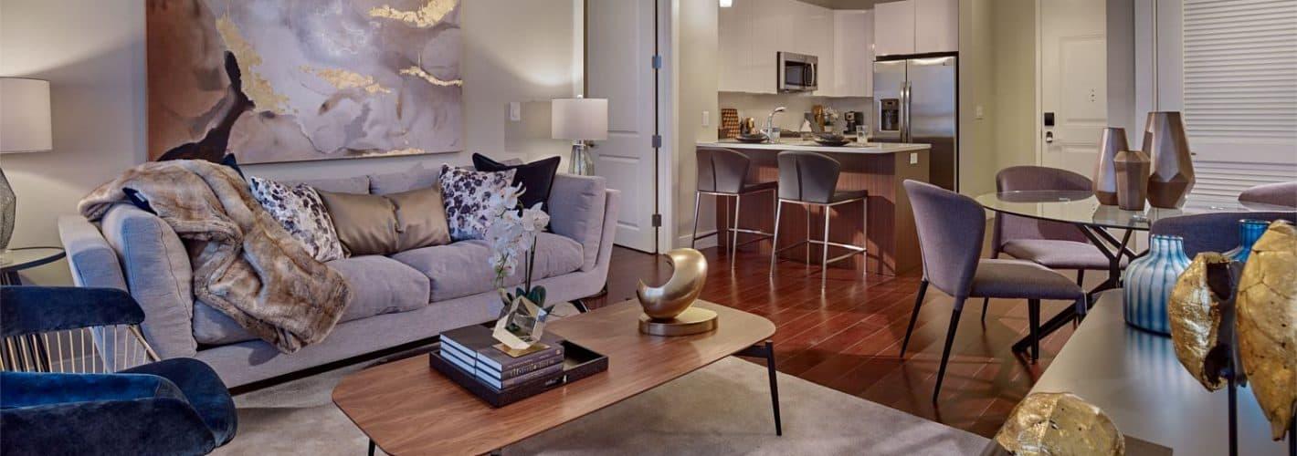 Harlow : Model Living Room