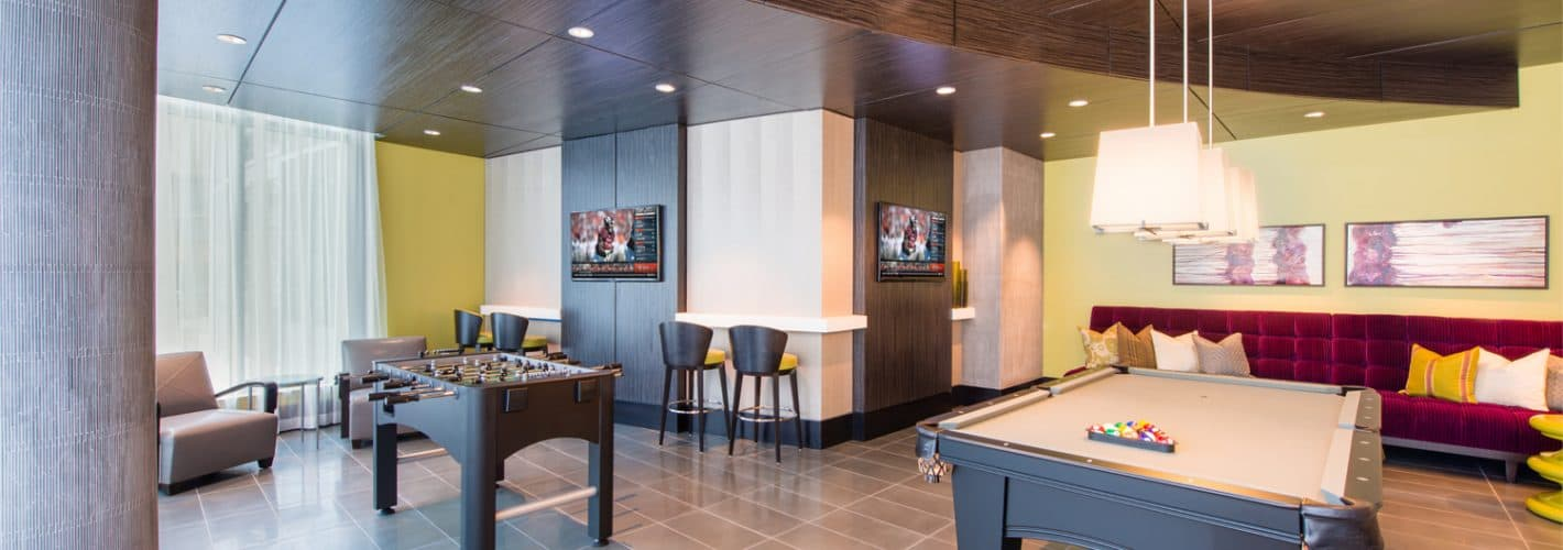 Ovation at Park Crest : Clubroom