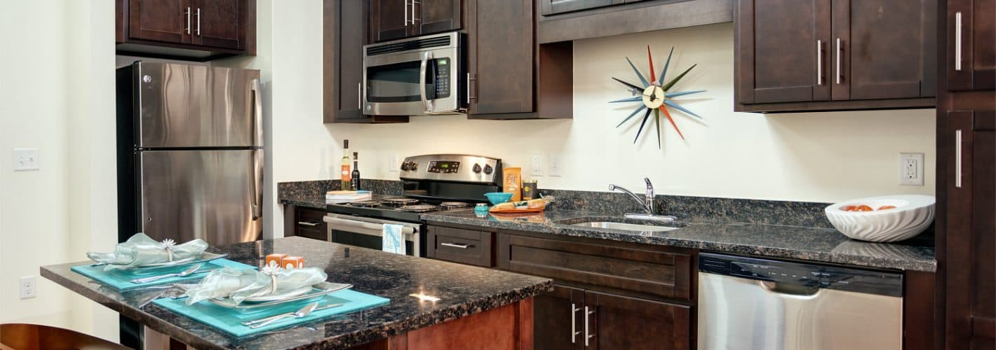 Winthrop : Make yourself at home in an ideal kitchen space.
