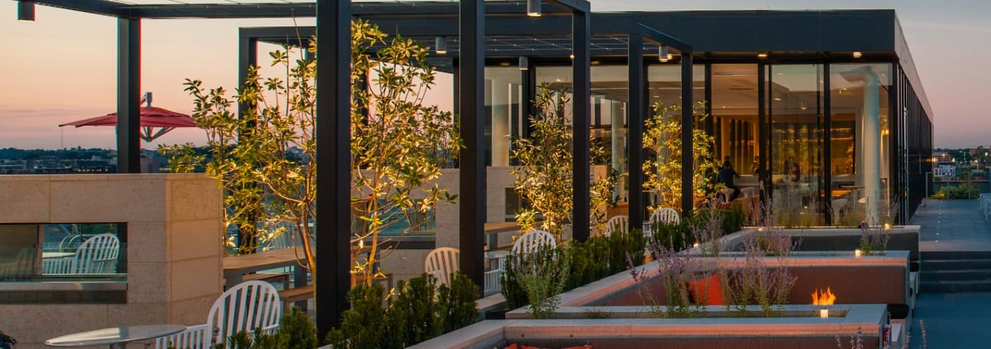City Market at O : Enjoy the rooftop deck and get down to relaxing.