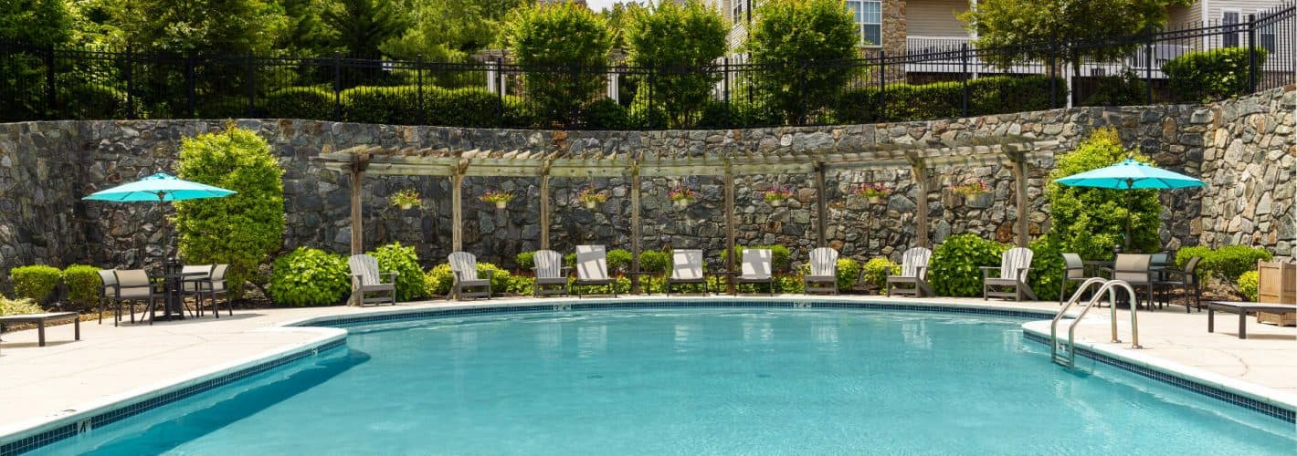 Chesapeake Ridge : When it gets warm, the pool is the perfect place to get cool.