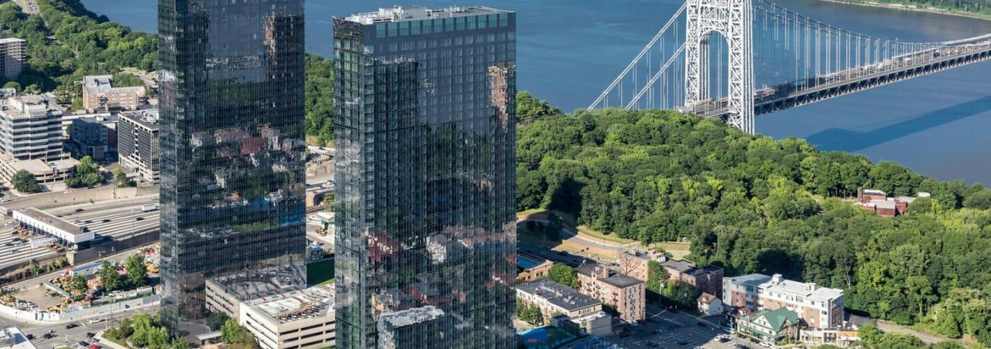 The Modern : The Modern Aerial Exterior - 100 Park & 800 Park