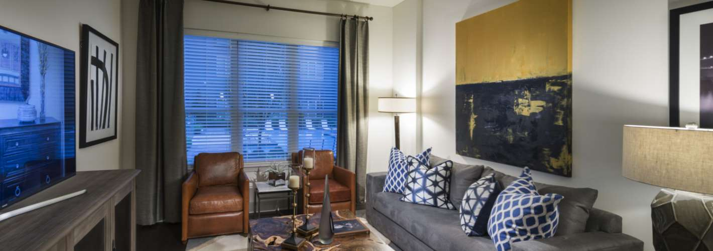 OMNIA at Town Center : Living room
