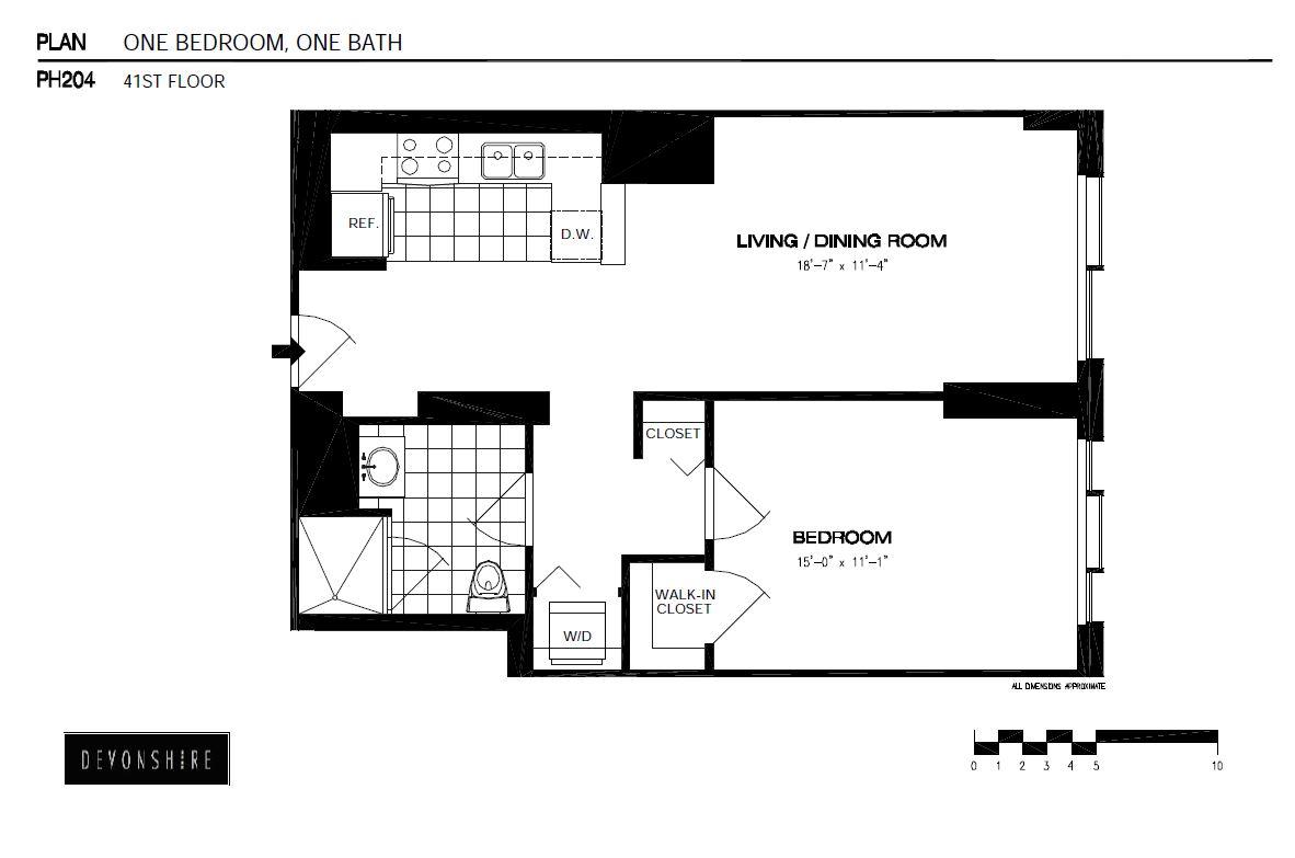 View Devonshire Apartment Floor Plans Studios 1 2 3 Bedrooms Bozzuto