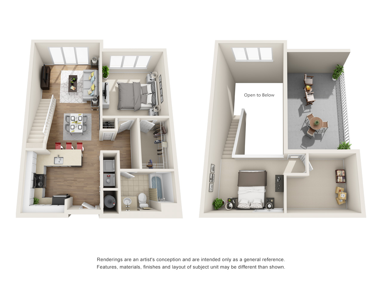 View Element One Apartment Floor Plans - Studios, 1, 2, 3+ ...
