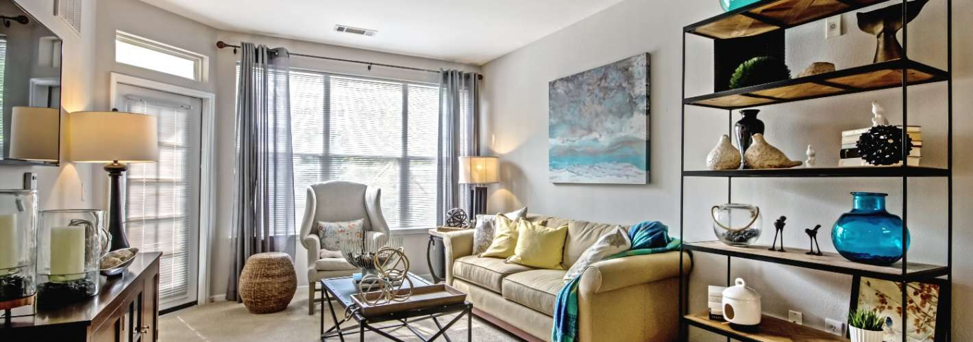 Stone Point Apartments : Open concept layouts for a functional flow